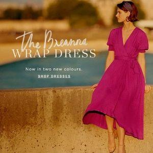 Maeve size 8 Breanna midi dress